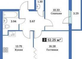 - фото. Купить двухкомнатную квартиру без посредников, Мурино, улица Шувалова, 40 - фото.