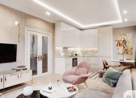 1-комнатная квартира на продажу, 46.8 м2, Санкт-Петербург